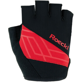 Roeckl Budapest Handschuhe schwarz/rot